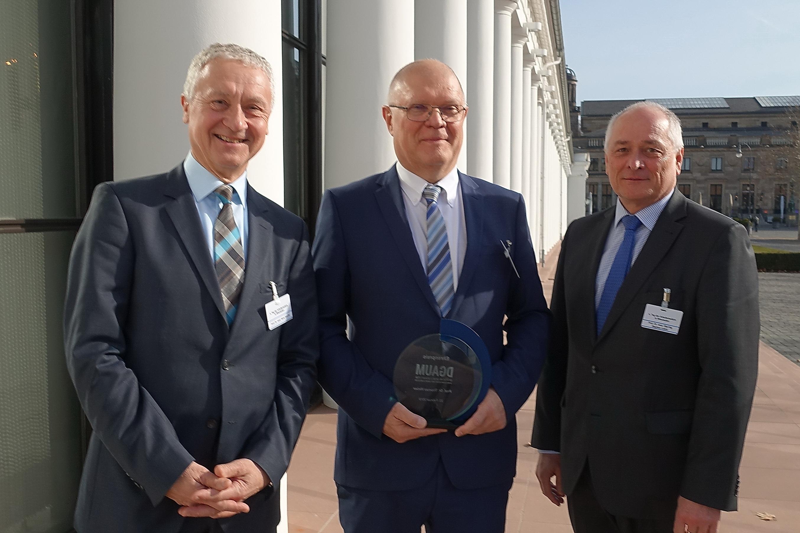 DGAUM Prof. Dr. med. Thomas Weber Ehrenpreis